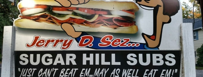 Sugar Hill Sub & Deli is one of Bbq pickup.