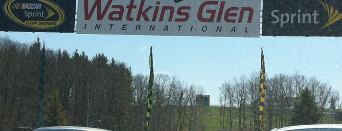 Watkins Glen International is one of Lieux qui ont plu à Swen.