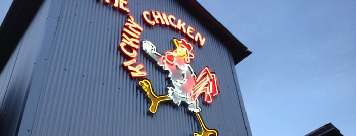 Kickin' Chicken Summerville is one of Posti salvati di Lizzie.
