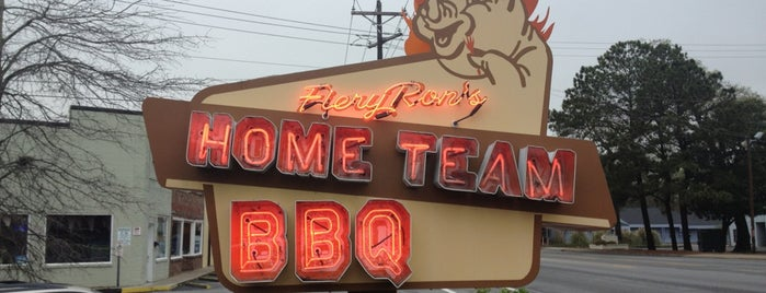 Home Team BBQ is one of Charleston Eats.