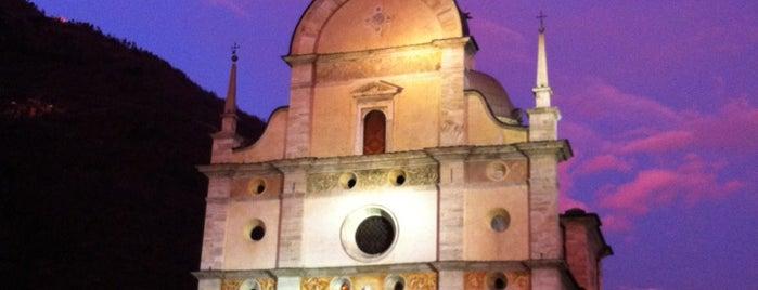 Basilica Madonna di Tirano is one of Mik'in Beğendiği Mekanlar.