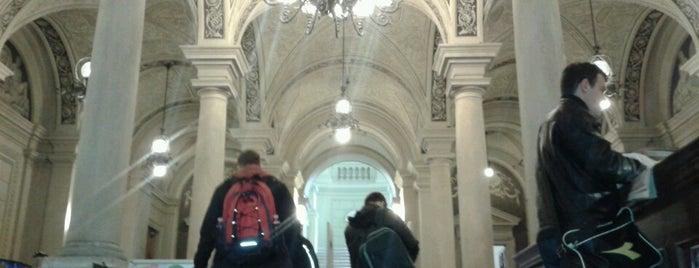 ELTE Egyetemi Könyvtár és Levéltár / ELTE University Library and Archives is one of Alex : понравившиеся места.