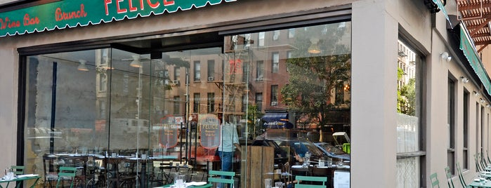 Felice 83 is one of Heated Outdoor Dining in NYC.