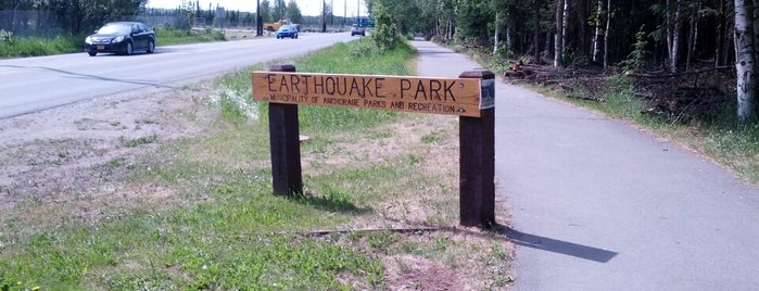 Earthquake Park is one of Lugares favoritos de Jonathan.