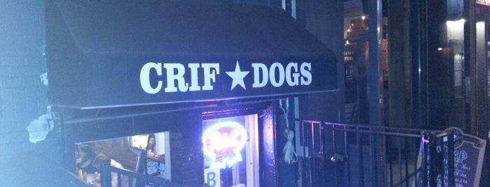 Crif Dogs is one of Food Near the Venues.