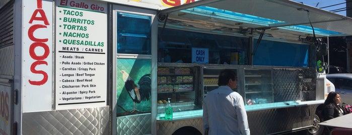 El Gallo Giro (Taco Truck) is one of California here we come.