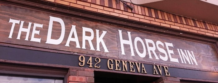 The Dark Horse Inn is one of Beer 47 Craft Beer Guide to SF.