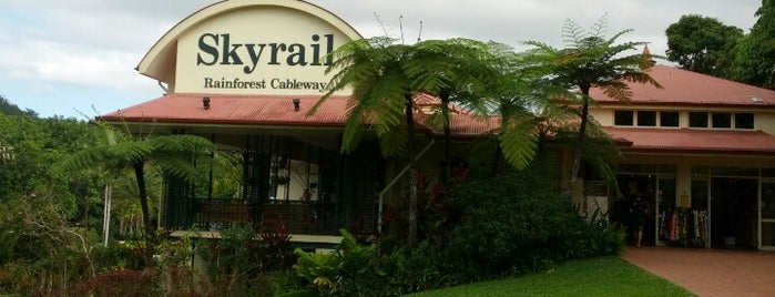 Skyrail - Kuranda Terminal is one of Aussie Trip.