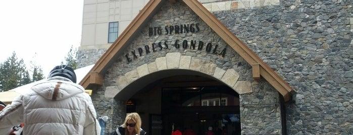 Big Springs Express Gondola is one of North Star badge.