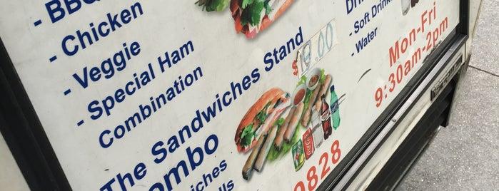 Vietnamese Sandwich Cart is one of Bánh mì, Bánh you.