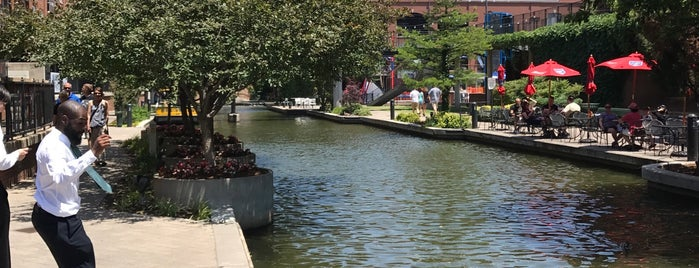 Bricktown District is one of Oklahoma City.