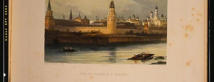 Kreml is one of Москва.