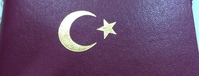 Pasaport Şube Müdürlüğü is one of azmi : понравившиеся места.