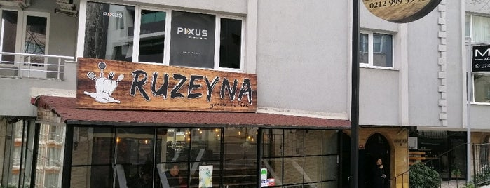 RUZEYNA is one of Gayrettepe~Balmumcu~Esentepe.