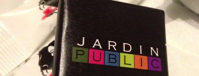 Jardin Public is one of Tim's Favorite Restaurants & Bars around The Globe.