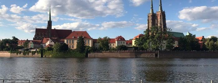 Bulwar Xawerego Dunikowskiego is one of Wroclaw.