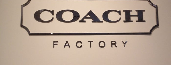 Coach Factory Outlet is one of Los Angeles CA.