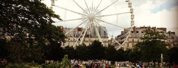 Jardin des Tuileries is one of Париж.