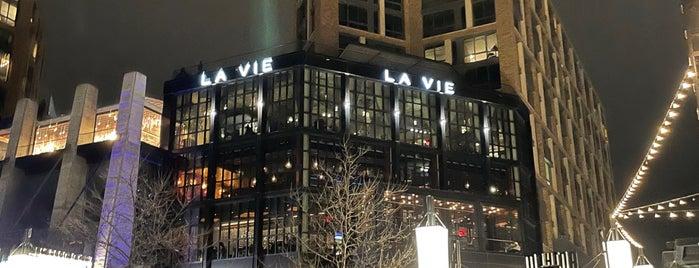 La Vie is one of สถานที่ที่บันทึกไว้ของ John.