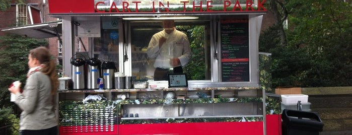 Rouge Tomate Cart is one of NYC: Truck You, Foodies!.