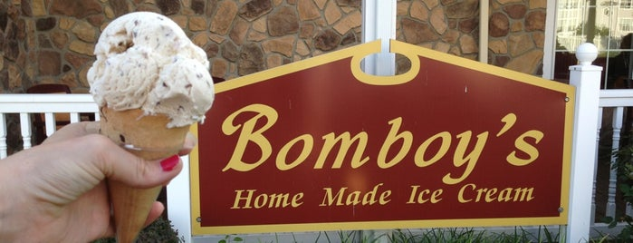 Bomboy's Homemade Ice Cream is one of Lugares favoritos de Curt.