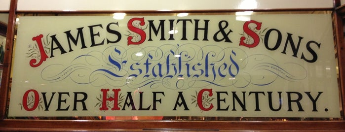 James Smith & Sons is one of London.