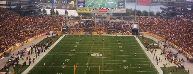 Heinz Field is one of Amarica Football.