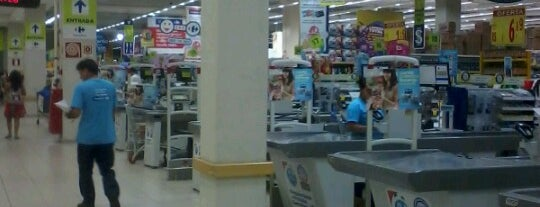 Carrefour is one of Tempat yang Disukai Vincent.