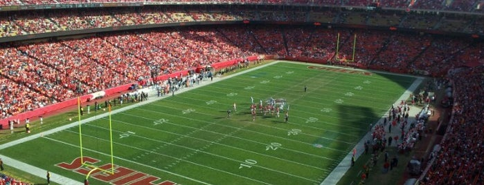 Arrowhead Stadium is one of The Most Popular Football Stadiums in the US.