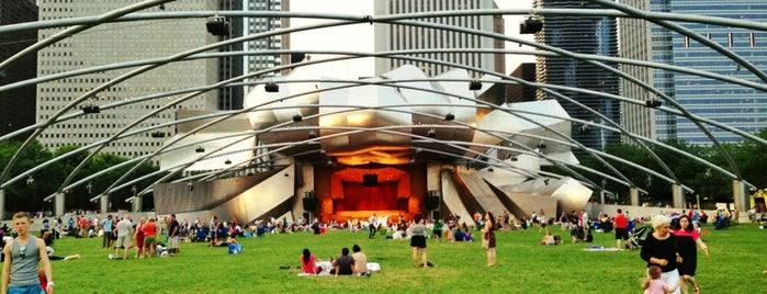 Jay Pritzker Pavilion is one of CHICAGO.