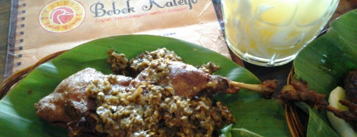 Bebek Kaleyo is one of Locais curtidos por Neng.