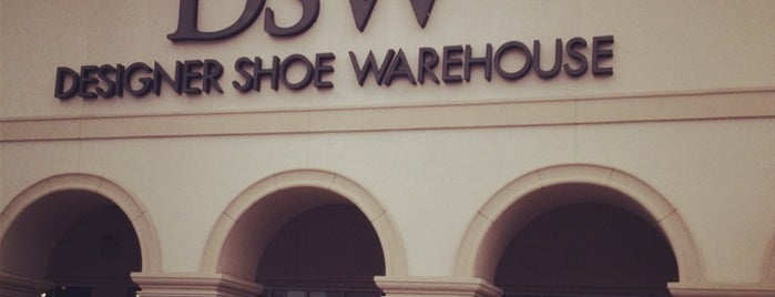 DSW Designer Shoe Warehouse is one of Andrew's Liked Places.