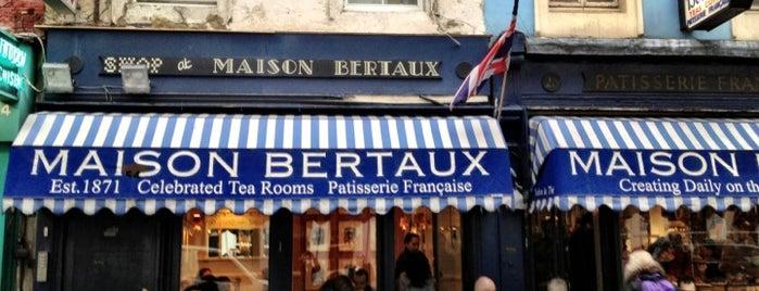 Maison Bertaux is one of Restaurants in London.