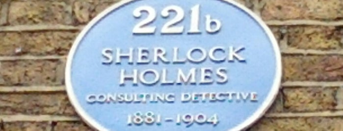 221b Baker Street is one of London.