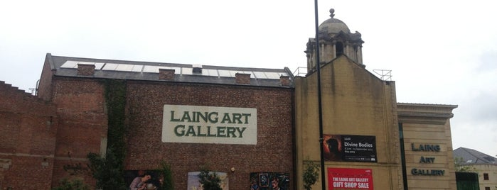 Laing Art Gallery is one of Locais curtidos por Helena.