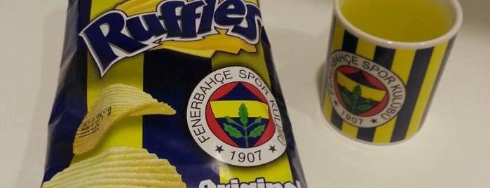 Ülker Stadyumu Fenerbahçe Şükrü Saracoğlu Spor Kompleksi is one of Gespeicherte Orte von Mert.