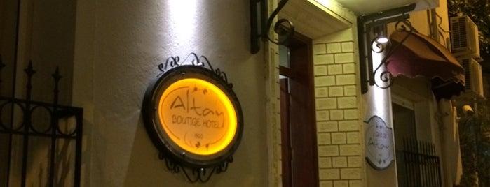 Altay Boutiqe Hotel is one of Selin : понравившиеся места.