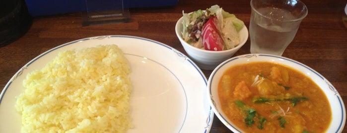インドカレー茶屋 にきる is one of 関西カレー部.