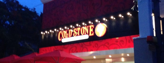 Cold Stone Creamery is one of yummy.
