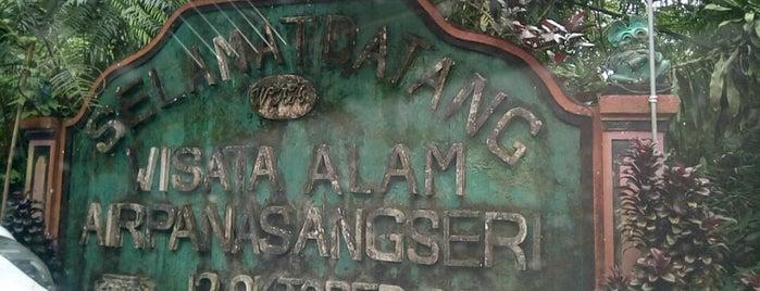 Wisata Alam Air Panas Angseri is one of Enjoy Bali Ubud.