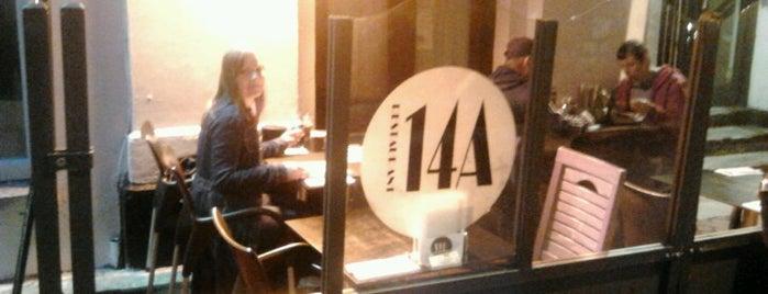 Restaurant 14A is one of Lieux qui ont plu à Farah.