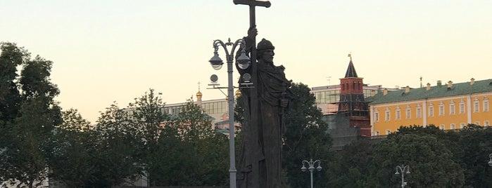 Памятник князю Владимиру is one of Posti che sono piaciuti a Stanislav.