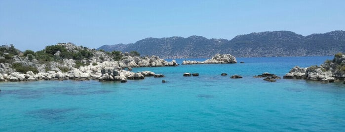 Kekova is one of Antalya.