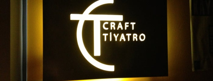 Craft Tiyatro is one of Tempat yang Disukai Fulya.