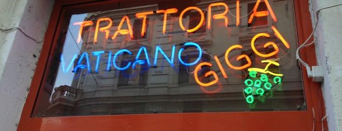 Trattoria Vaticano Giggi is one of Italy 🇮🇹.