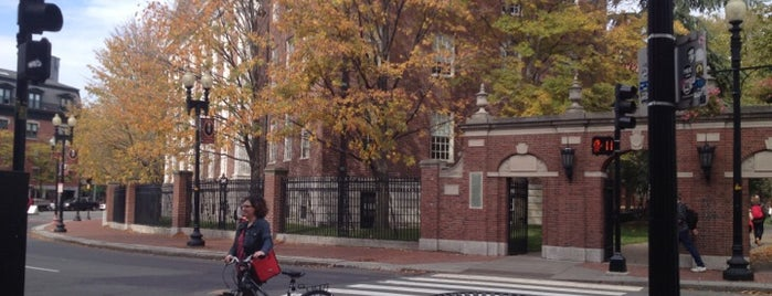 Harvard Square is one of New England.