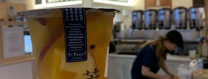 Yi Fang Taiwan Fruit Tea is one of Vyacheslavさんのお気に入りスポット.