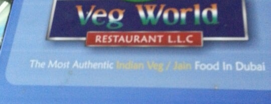 Veg World Restaurant is one of Dubai Food 6.