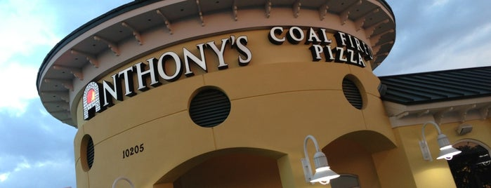 Anthony's Coal Fired Pizza is one of Miami August 30.