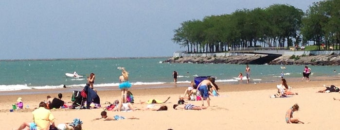Ohio Street Beach is one of Stevenson Favorite US Beaches.